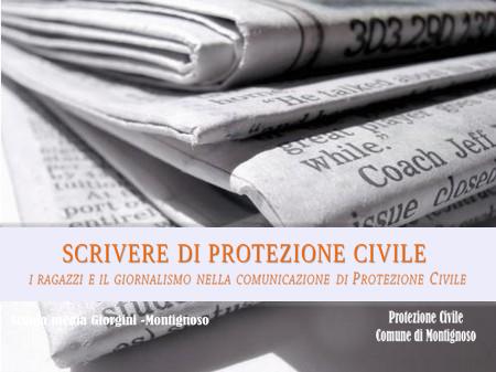 Scrivere di Protezione Civile